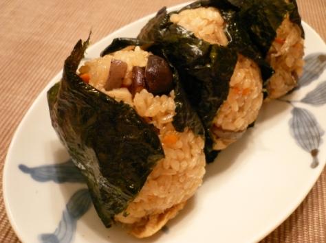 Chicken gomoku mixed rice