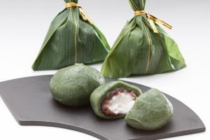 Bamboo-Leaf-Wrapped Dango