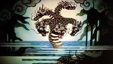 Benten is believed to have created Enoshima before subduing a five-headed dragon that had been terrorizing the area.